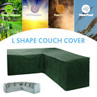 garden furniture cover corner rattan l shape sofa protector outdoor dust proof