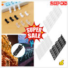 20Pcs Wire Organizer Securing Cables Clamp Storage Clips Buckle Line Finishing