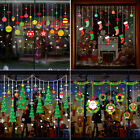 Merry-christmas Gift Wall Window Stickers Decals Xmas Home Shop Decor Ornament