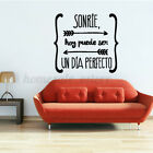 Removable Pvc Spanish Quote Wall Sticker Decal Poster Art Home Decoration  D1