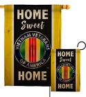 Home Sweet Vietnam Garden Flag Armed Forces Service Decorative Yard House Banner