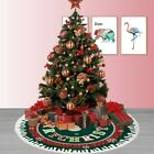Christmas Tree Skirt Mat Party Snow Mat Cover Home Party Xmas New Year Decors
