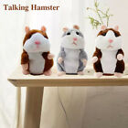 Talking Hamster Electronic Plush Toy Mouse Pet Sound For Children Gift USA New