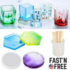 DIY Craft Molds for Resin Casting Epoxy Silicone Molds Coaster Jewellery Making