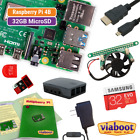 Raspberry Pi 4 Model B Kit with 32GB MicroSD & Official Case