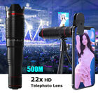 22X 4K HD Telephoto Camera Lens Phone External Lens For Samsung Galaxy Note9 S20
