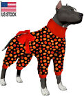 LovinPet Pitbull Pajamas/Post Surgery Dog Shirt/UV Protection