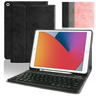 "For iPad 10.2"" 2020 8th/7th Generation Smart Case Leather Stand Cover / Keyboard"
