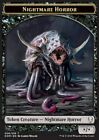 4x Token Horror Nightmare - Nightmare Horror / (006/016) MTG Magic Dom eng / ita