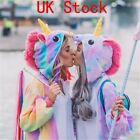 Adult/Child Unicorn Unisex Kigurumi Animal Cosplay Costume Onsie8 Pajamas UK-
