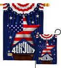 Stars 4th of July Garden Flag Fourth Patriotic Decorative Gift Yard House Banner