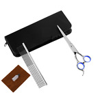 7Pcs Dog Cat Pet Hair Grooming Scissors Set with Straight&Curved&Thinning Shears