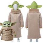 The Mandalorian Yoda Baby Cosplay Costume Halloween Kid