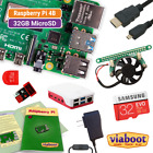 Raspberry Pi 4 Model B Complete Kit with 32GB MicroSD & Official Case