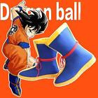 HOT Unisex Dragon Ball DBZ Son Goku Cosplay Costume Boots Masquerade Boots Shoes