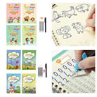 Magic Calligraphy Copybook Writing Practice Book for Student Preschool Drawing