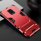 For Xiaomi Redmi Note 9S 9 Pro Hybrid Armor Stand Rugged Shockproof Case Cover