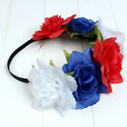 Women Adult Headband Photography Garlands Halloween Floral Hair Crown Party