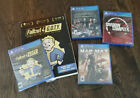 New PS4 Games Lot: Shadow Complex Remastered, Fallout 4+Book, Injustice, Mad Max