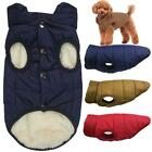 Pet Dog Cosy Fleece Jacket Puppy Winter Lined Coat Clothes Warm Padded Vest