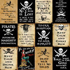 Multi-Listing Pirates metal plaques signs posters nautical skull and crossbones