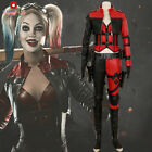 Injustice 2 Harley Quinn Costume Harleen Quinzel Cosplay Leather Halloween Game