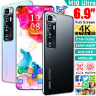 """New 6.9"""" 12gb +512gb Android 11.0 Dual Sim Unlocked Mobile Smart Phone Deca Core"""