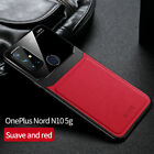 For OnePlus Nord N10 5G N100 Luxury Shockproof PU Leather Hybrid Slim Case Cover