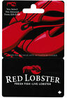 Gift Card RED LOBSTER 🦞🦐 🐟🐠 Collectible Restaurant For Sale