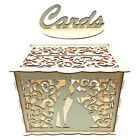 Wooden Wedding Card Box Envelope Box Gift Card Holder Box for Party Baby Shower