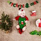 4 Pcs Newborn Photography Props Baby Hat Socks Elk Doll Romper Christmas Costume