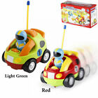 Remote Control Cartoon Police Car Race Car RC Radio Toys For Toddlers And Kids