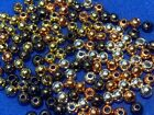 FLY TYING ECONO BRASS BEADS-4 COLORS (25 PCS)