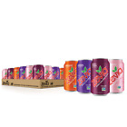 Zevia Zero Calorie Soda, Fruity Variety Pack, 12 Ounce Cans (Pack of 24)