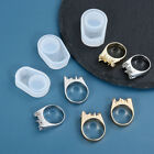 Ring Mould Silicone Mold Resin DIY Making Pendant Crystal UV Epoxy Jewelry Craft