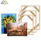 Canvas Frame Bar Oil Painting DIY Stretcher Strip Kit For Home Office Gallery 1