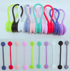 Silicone Cable/Magnet Cord Clips Set/Magnetic Twist Ties/Management Earpho