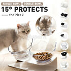 Cat Double Bowls With Stand Feeding Anti-slip Pet Cat Dog Food Bowl Water  *h