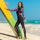 Women Surfing Wetsuit Zipper design and easy to wear.