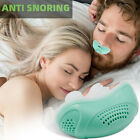 Electric Micro CPAP Noise Anti Snoring Device Sleep Apnea Stop Snore Aid Stopper photo