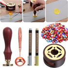 Decor Colorful Postcards Seal Wax Bead Letter Sealing Sealing Stamp Hot Waxs