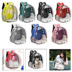Deluxe Pet Carrier Small Medium Cats Backpack Clear Breathable Carry Bag