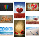 Romantic Heart-shaped Background Cloth Photography Backdrop Props