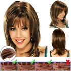 Womens Short Bob Style Straight Wigs Long Curly Wavy Hair Daily Use Party Wig