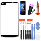 For LG V10 V20 V30 V40 ThinQ Replacement Outer Front Glass Lens Screen Tools