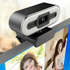 4K HD Autofocus USB 2.0 Webcam with Ring Light  Microphone Camera for PC Laptop