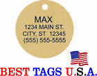 50 PET tags personalized Dog Cat Pet ID FREE Engraving >>FROM $49.95 Shipped!!