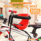 Kids Child Bicycle Seat Saddle Children Safety Front Seat For Mountain B qq