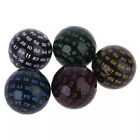 100 Sides Polyhedral Dice D100 Multi Sided Acrylic Dices for Table Board Game