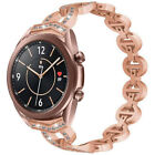 Women Bling Rhinestone Band Strap for Samsung Galaxy Watch 3 Active2 40mm 41mm